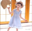 女童夏裝洋裝2020新款兒童裝網紅棉質裙子夏季洋氣小女孩公主裙 HX5585【Sweet家居】