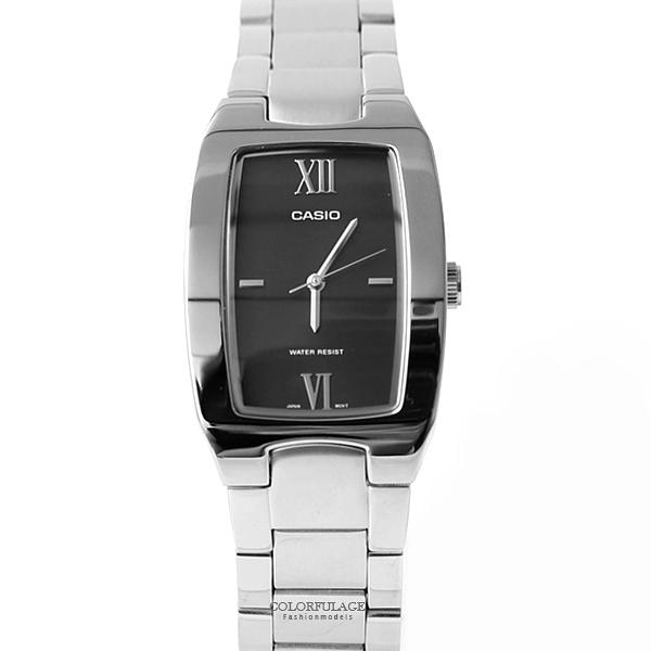 CASIO卡西歐 羅馬數字刻度手錶 質感鐵錶 有保固 柒彩年代【NEC77】原廠公司貨