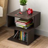沙發邊幾角幾 簡約現代客廳可移動茶幾邊柜儲物柜 臥室迷你床頭桌【小梨雜貨鋪】