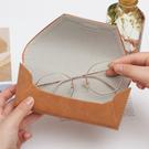 眼鏡盒 眼鏡盒ins少女複古文藝便攜防壓眼睛盒收納盒墨鏡盒女簡約韓國風 店慶降價