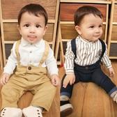 男童嬰兒背帶長褲春裝男寶寶【奇趣小屋】