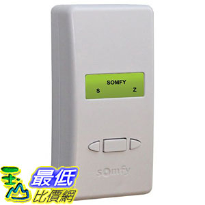 [7美國直購] Somfy ZRTSI RTS 16 Channel Z-Wave to RTS Plug-in Interface Wall Module