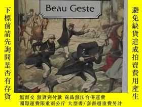 二手書博民逛書店英文原版罕見Beau Geste by P.C. WrenY14