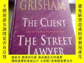 二手書博民逛書店THE罕見CLIENT THE STREET LAWYER 客戶