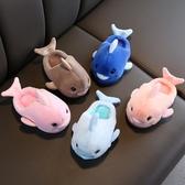 男童女寶寶棉拖鞋冬天嬰兒幼兒童1-3歲可愛小孩棉鞋女童室內保暖2 滿天星