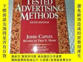 二手書博民逛書店Tested罕見Advertising Methods【外文原版】Y185017 John、Fred Hahn