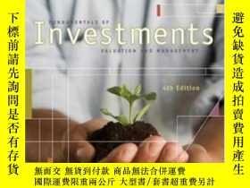 二手書博民逛書店Fundamentals罕見Of Investments With S&p & Stock Trak Card