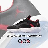 Nike Air Jordan 11 CMFT Low 黑 紅 Bred 休閒鞋 男鞋【ACS】 CW0784-006