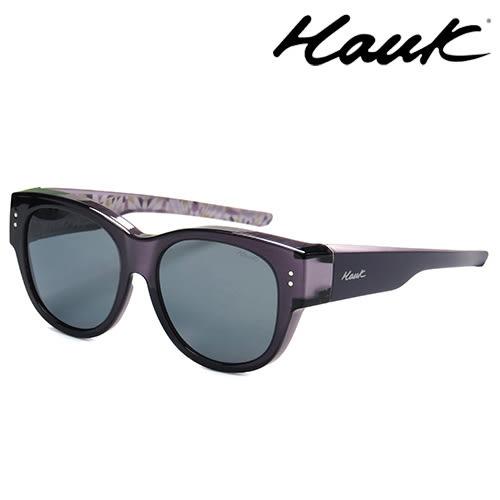 HAWK偏光太陽套鏡(眼鏡族專用)HK1016-10A