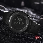 電子錶 電子手錶男簡約潮流大高初中學生男女孩防水夜光運動青少年電子錶 3色