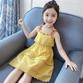 吊帶裙 女童吊帶洋裝夏裝韓版新款夏季兒童裝女孩洋氣公主裙子