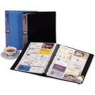 《享亮商城》NP-300 藍 30孔活頁名片簿(300名) HFP