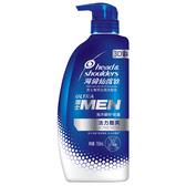 海倫仙度絲 H&S 去屑洗髮乳 洗髮精 男士專用 活力酷爽 750ml/瓶