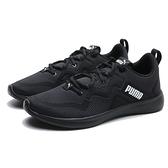 PUMA 慢跑鞋 SOFTRIDE VITAL 全黑 網布 訓練 透氣 男 (布魯克林) 19370305
