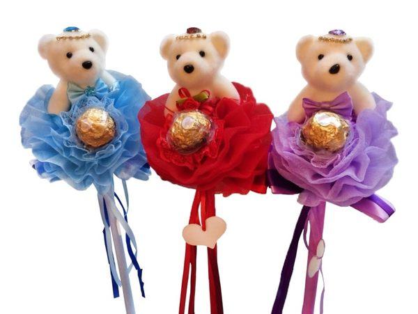 娃娃屋樂園~公主熊.金莎棒 每枝150元/第二次進場花棒/送客禮/婚禮小物