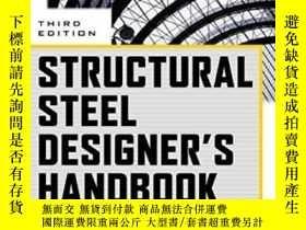 二手書博民逛書店Structural罕見Steel Designer s Han