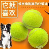 狗狗玩具球金毛泰迪彈力球耐咬磨牙網球寵物幼犬拉布拉多小狗玩具  中元節禮物