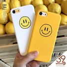 手機殼 黃色笑臉IPhone專用保護半包硬殼-BAi白媽媽【180092】