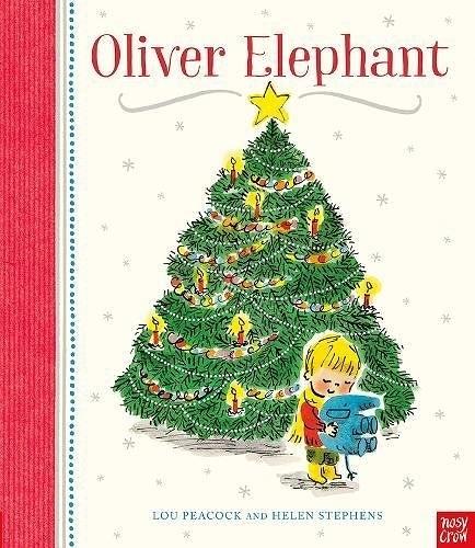 【麥克書店】OLIVER ELEPHANT /英文繪本《主題: 聖誕節》內附QR code
