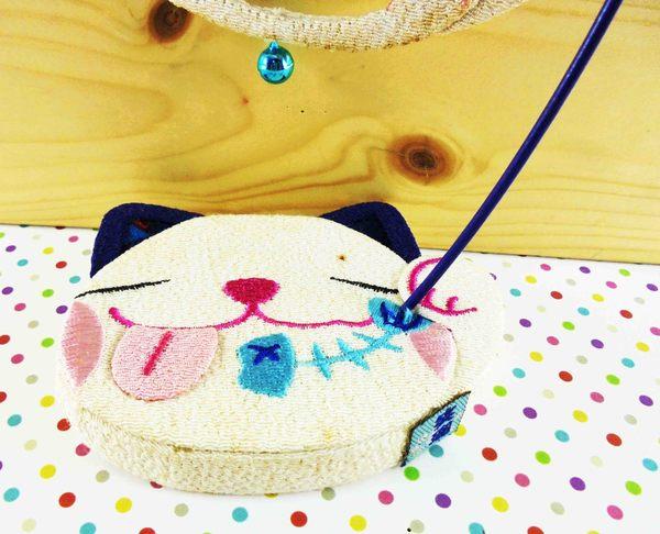 【震撼精品百貨】招財貓_招き猫~造型擺飾-白