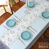 桌布 桌布防水防油免洗 北歐餐桌布茶幾桌墊長方形桌旗家用pvc臺布布藝 618大促銷