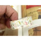 和紙膠帶│路邊的小花紙膠帶/單捲