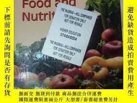 二手書博民逛書店discovering罕見food and nutritionY