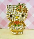 【震撼精品百貨】Hello Kitty 凱蒂貓~KITTY耶誕徽章-水鑽