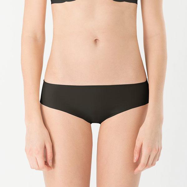 LeRêveParis |舒適無痕內褲|-時尚黑  特殊彈性織法,柔軟服貼、隱形無痕