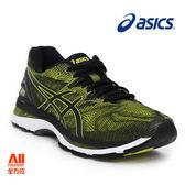 【asics亞瑟士】男款慢跑鞋 GEL-NIMBUS 20  -黑蜂黃(T800N8990)全方位跑步概念館