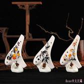 陶笛 6種款式12孔成人初學者兒童小學生易入門中音調桃笛陶瓷樂器 DR17507【Rose中大尺碼】