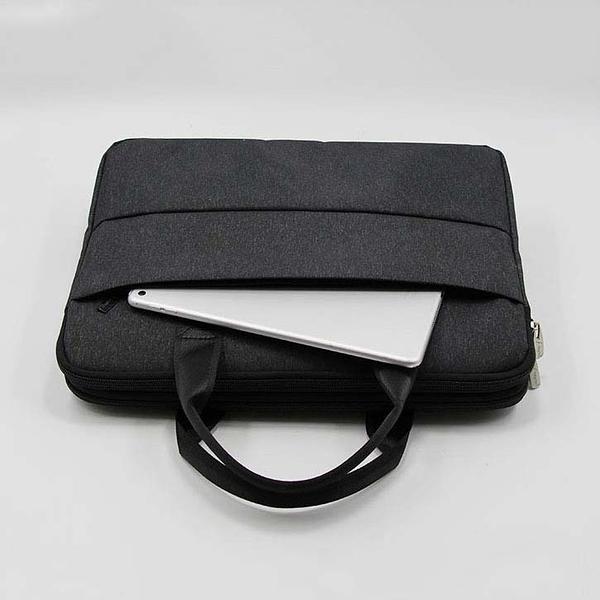 公事包 公文包男帆布商務手提A4文件包女簡約辦公包大容量多層電腦袋