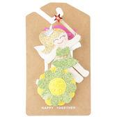 美國手工髮夾髮飾壓夾: 小精靈:Sparkle Dust Fairy:LM-HCA318