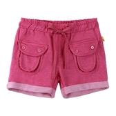 『小鱷魚童裝』亮彩口袋休閒短褲(08號~16號)533661