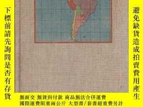 二手書博民逛書店Inside罕見Latin America拉美內幕,1941布面
