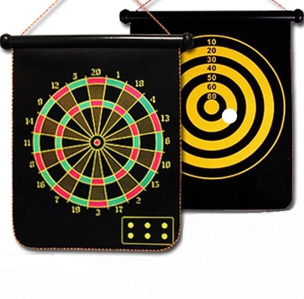 飛鏢盤套裝磁性兒童兩面家用飛鏢靶 小宅君