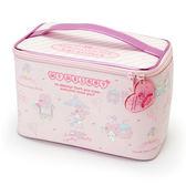 美樂蒂化妝箱收納箱置物箱手提箱草莓氣球112786 通販屋