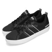 adidas 休閒鞋 VS Pace 黑 白 復古 基本款 黑白 男鞋 運動鞋【PUMP306】 F34633