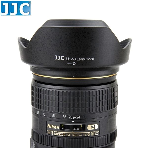 又敗家@JJC尼康Nikon副廠遮光罩DX 24-120mm F/4G可反裝相容原廠Nikon遮光罩HB-53遮光罩HB53太陽罩遮陽罩F4G