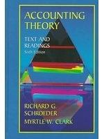 二手書博民逛書店《Accounting theory : text and re