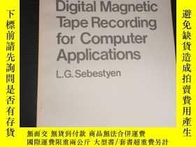 二手書博民逛書店digital罕見magnetic tape recording for computer application