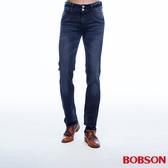 BOBSON 男款低腰雙釦彈性直筒褲   (1801-52)