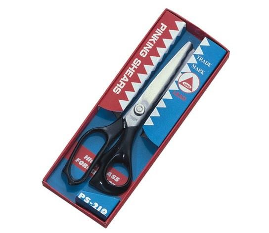 LEAD進口布樣剪刀 (鋸齒狀)PS-210