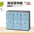 【藍色門片】【樹德SC風格置物櫃】SC-306M SC風格置物櫃/臭氧科技鞋櫃 收納櫃 保管櫃 整理櫃