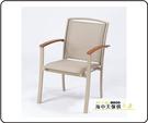 {{ 海中天休閒傢俱廣場 }} G-52 戶外時尚 編藤桌椅系列 62-2 木扶手紗網椅