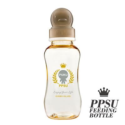 【佳兒園婦幼館】PUKU 藍色企鵝 PPSU母乳實感標準奶瓶-280ml
