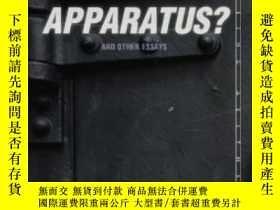 二手書博民逛書店What罕見Is An Apparatus? And Other EssaysY255562 Giorgio