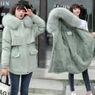 棉襖女士外套 韓版外套羽絨外套 加厚冬季上衣潮流 夾克外套加絨休閒棉衣 學生棉服女生外套