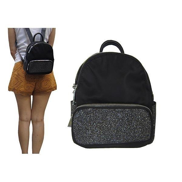 【南紡購物中心】雪黛屋~COUNT 後背包超小容量主袋+外袋共四層進口防水布+牛皮革二層主袋