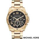 MICHAEL KORS MK8481 金黑大錶面羅馬時標三眼金錶 44mm 公司貨保固2年   名人鐘錶高雄門市
